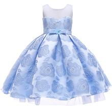 Christmas Children Tutu Kid Party Wear Costume Princess Wedding Flower Girls Dresses Ceremonies Teenagers Prom Gown XF15