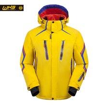 WHS Новинка 2018  горнолыжные Куртки для мужчины ветрозащитный теплая куртка мужчины водонепроницаемый сноуборд куртка подростков открытый спортивная одежда зима яркая цветная куртка