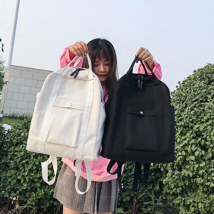 Fashion Women Backpack for School Teenagers Girls Boys Stylish School Bag Ladies Canvas Fabric Backpack Female Bookbag MochilaFashion Women Backpack for School Teenagers Girls Boys Stylish School Bag Ladies Canvas Fabric Backpack Female Bookbag Mochila
