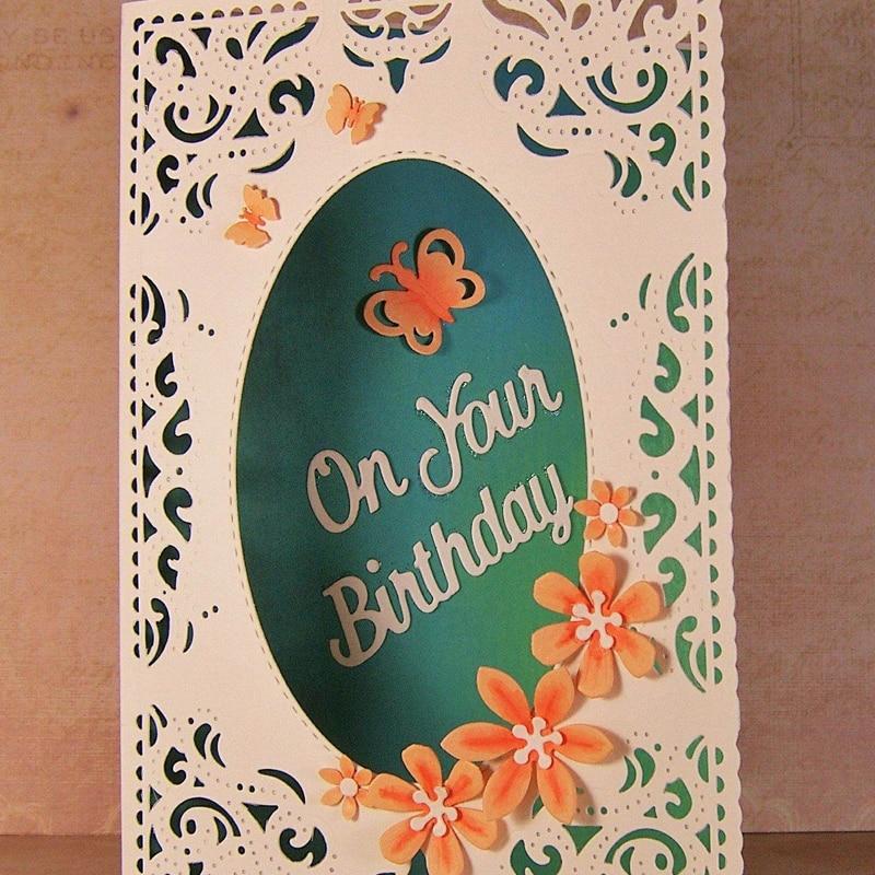 3X Small Flower Design Metal Cutting Die For DIY Scrapbook Album Paper Card A!