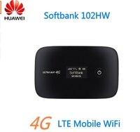 Original Unlocked Huawei Softbank 102HW Mobile WiFi 3G WCDMA 2100MHz USIM Modem Mini WiFi Router PK e587 e5220 e5330