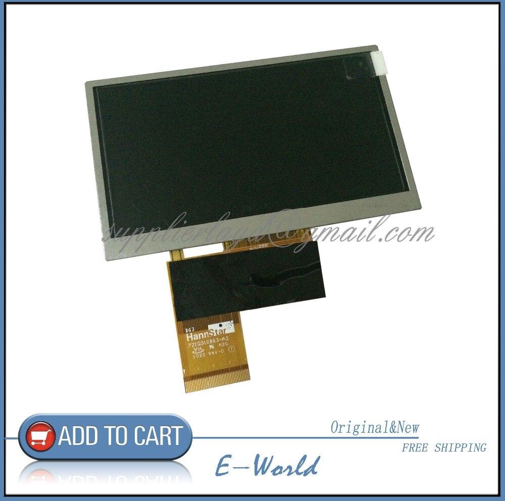Original 4 3inch LCD Screen Display Panel Hannstar 721Q310B63 A2 721Q310B63 Free Shipping