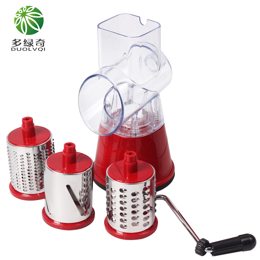 DUOLVQI Multifunctional Mandoline Slicer and Manual Vegetable Cutter as Kitchen Accessories 3