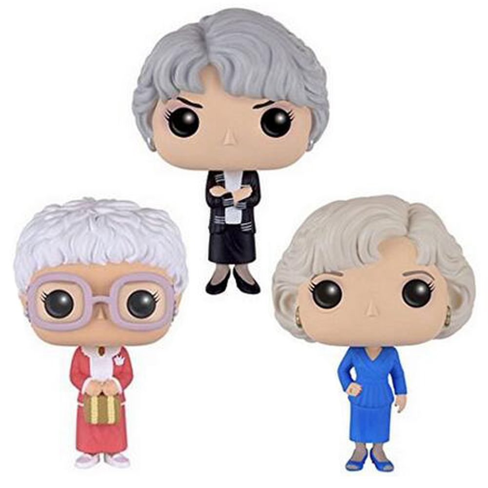 the Golden Girls Character Dorothy Rose Sophia 10cm VINYL Action Figure Collection Model Toys