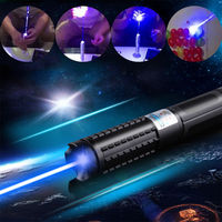 JSHFEI 450nm Blue Laser Pointers Flashlight burn match candle lit cigarette wicked wholesale LAZER