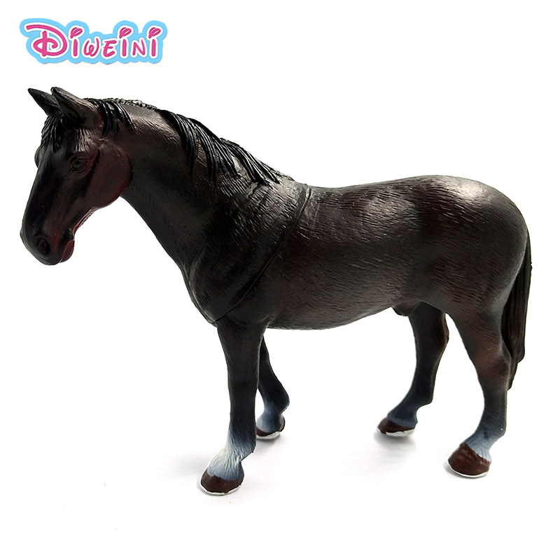 Zoo Simulation animals models figures horses Action Figures kids toys children Plastic home decoration accessories Gift For Kids 48pcs lot action figures toy stikeez sucker kids silicon toys minifigures capsule children gift