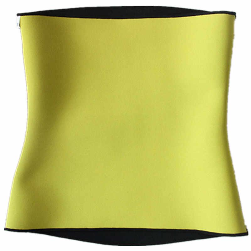 Mannen Body Shapers Riem Modellering Riem Neopreen Zweet Sauna Taille Trainer Corset Buik Elasticiteit Reguleren Maag Slim Riemen
