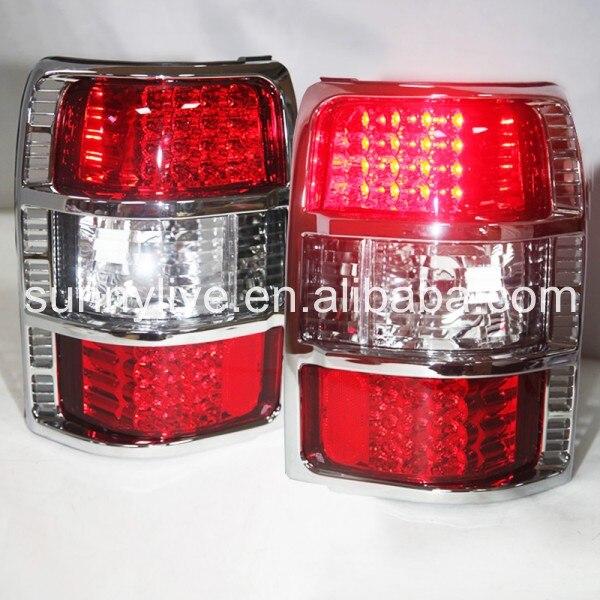 Pour MITSUBISHI Pajero V33 V32 V31 feu arrière LED Rouge blanc 1991-1999