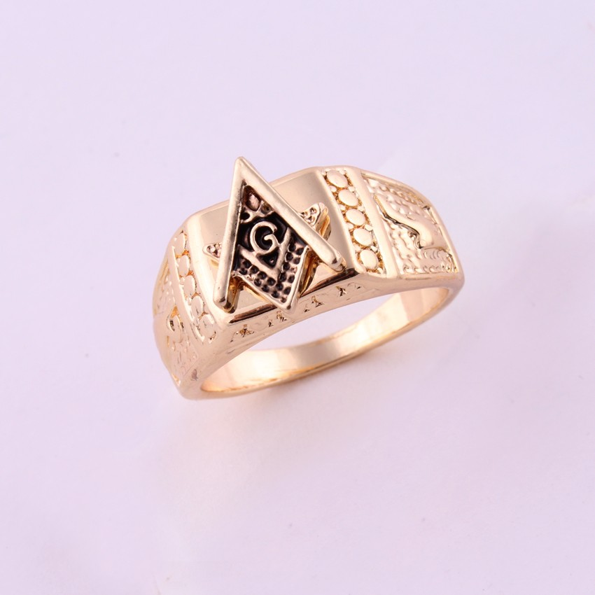 New Arrival! 7-13 Side Gold color HIphop Ring men Rings hip hop rock jewelry bar club for men women Birthday gift