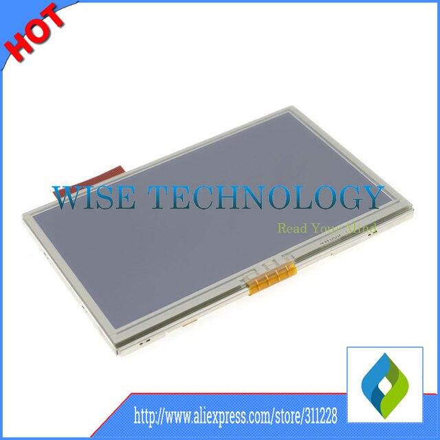 4.3 ''pulgadas para tomtom go 630 630 T pantalla LCD + el panel de tacto de cristal digitalizador, LCD GPS