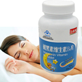 3bottles 600mg*60 tablets good for sleeping supplyment product melatonin tablets