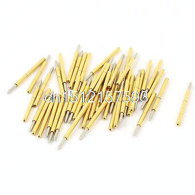 50 Pieces P75-B1 0.74mm Spear Tip Spring PCB Testing Contact Probes Pin b spear spear multimate tm user s guide pr only