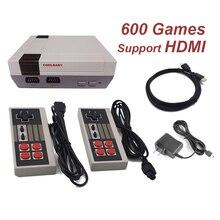 Мини ТВ Ретро игровой консоли Поддержка HDMI Ретро игровая консоль Встроенный 8-бит 600 классические игры ручной Игры плеер
