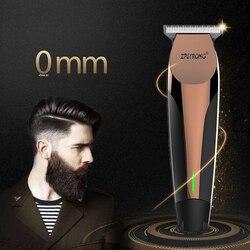 100-240 V профессиональная машинка для стрижки волос Электрический триммер волос 0,1 мм волосы резки борода триммер Стрижка Clipper аккумуляторная