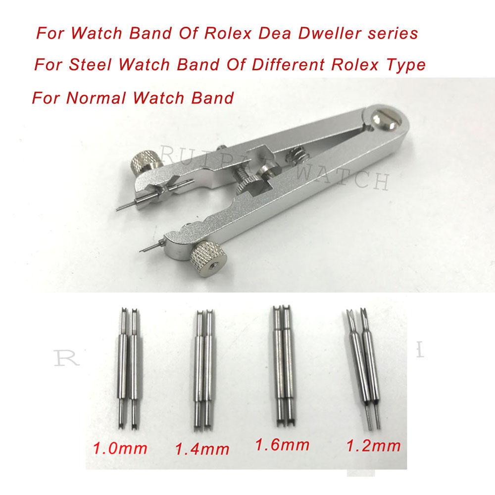 Watch Bracelet Pliers Watch Band Tool 6825 Standard Spring Bar Removing Tool For Rolex-Dea-Dweller series free shipping 1pc bergeon 6825 standard spring bar bracelet pliers removing tool china made