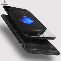 Baseus 5000 7300mAh Phone Power Bank Charger Case For IPhone 6 6S External Battery Pack Backup