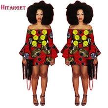 6f0b0246d75 Femmes Dashiki Robe 2017 Dames Courtes Sexy Robes Africaines Traditionnel  Imprimer Mini Femmes D été Slash Cou Robe BRW WY1250