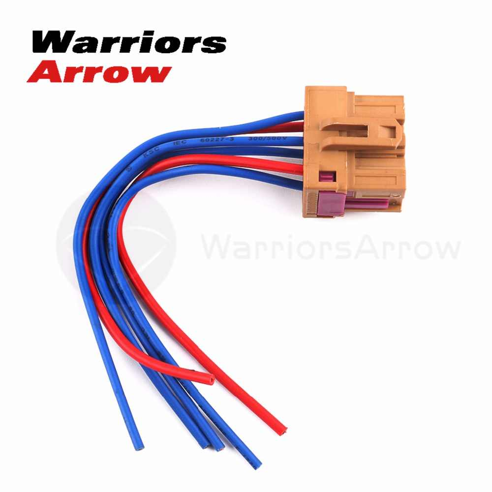 detail feedback questions about 1j0937731 for vw passat 1997 2000 touareg  2011 2012 for audi a4 1995 1997 air blower fan wiring harness 6 pin plug  connector
