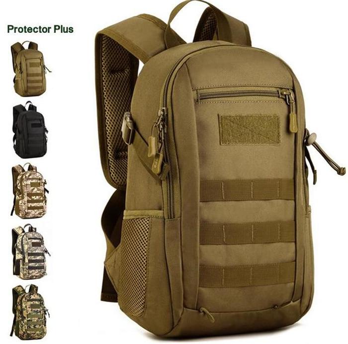 Protector Plus Men's 1000D Nylon Men Backpack Travel Climb Laptop School Rucksack Military Book Student Bag Daypack Knapsack d addario ej27h student nylon hard tension