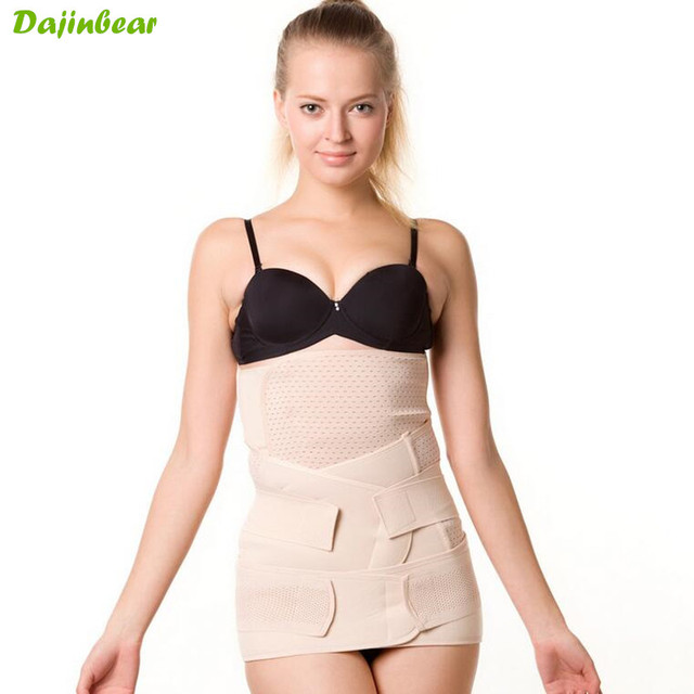 3 Pieces/Set Pregnant Woman Postpartum Recovery Belt Pregnancy Girdle Tummy Slim Slimming Waist Belly Band Shapewear