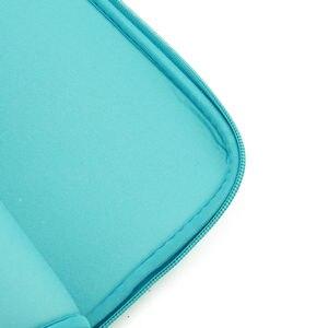 """Image 4 - Luva macia saco do portátil caso para macbook ar pro retina 13 11 15 14 """"para mac bolsa capa para notebook telefone mouse adaptador cabo"""