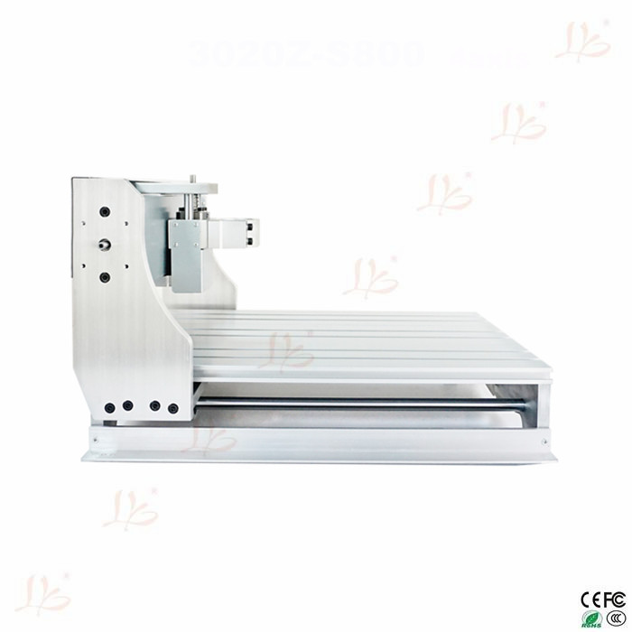 Mini CNC Engraving Machine Parts 3040 Lathe Bed Frame with Ball Screw, DIY CNC Frame 3040 for CNC 3040 Milling Machine