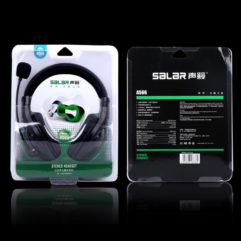 Salar A566 Стерео 3,5 мм стерео құлаққап - Портативті аудио және бейне - фото 6