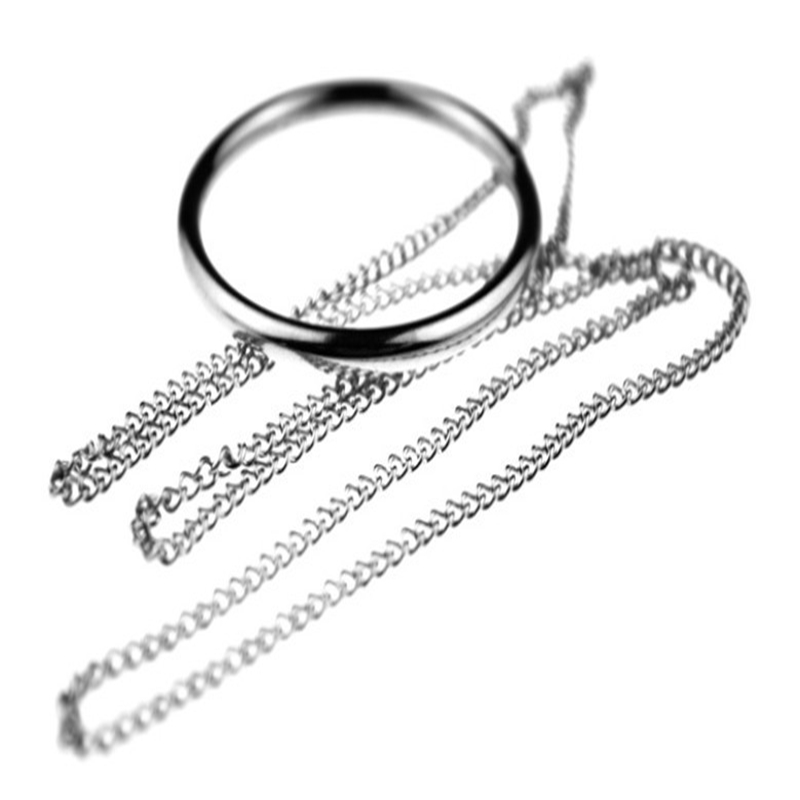 New Arrival Cool Fashion Magic tricks magic props tomorrow ring necklace Free shipping large size High Quality ...