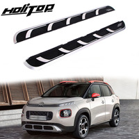 New arrival nerf bar running board side pedal for Citroen C3 Aircross 2018 2019,ISO9001 factory,free shipping to Asian countries
