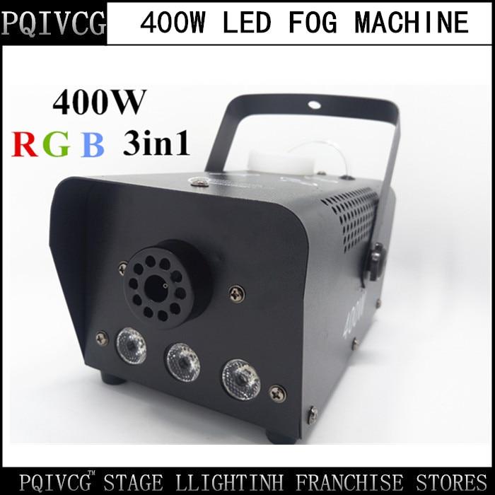 Lights & Lighting 12x3w Led Rgb 3in1 Charm Colorful Fog Smog Machine With Direction Ajustable Smoke Device Head 1.5l Tank Capacity