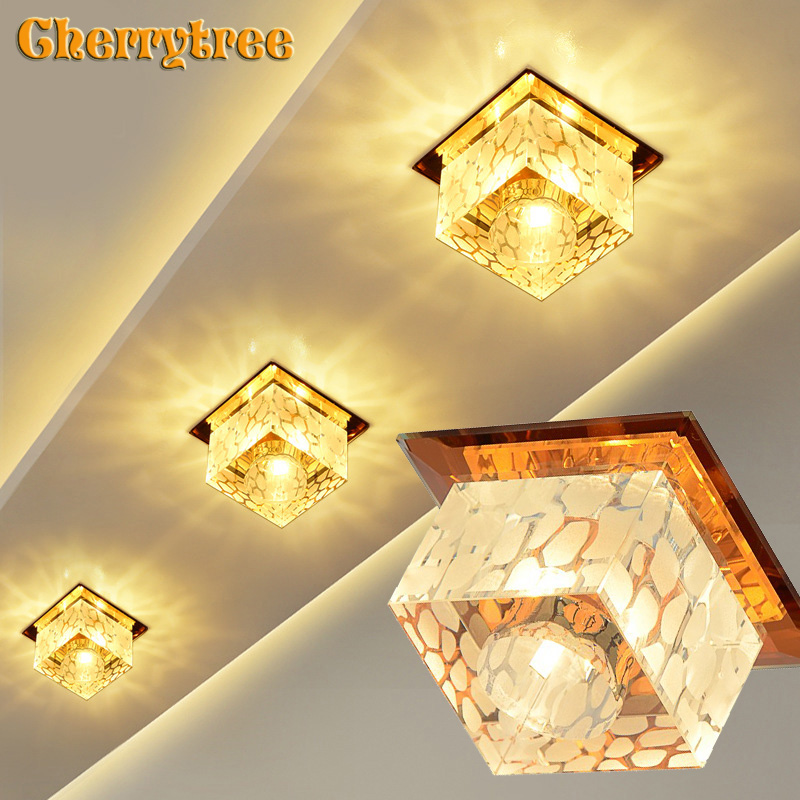Led Ceiling Lights Modern Ceiling Lamp Crystal Lamp Loft Decor Spot Dining Living Room Kitchen Light Fixtures Surface Mounted Ceiling Lights Aliexpress