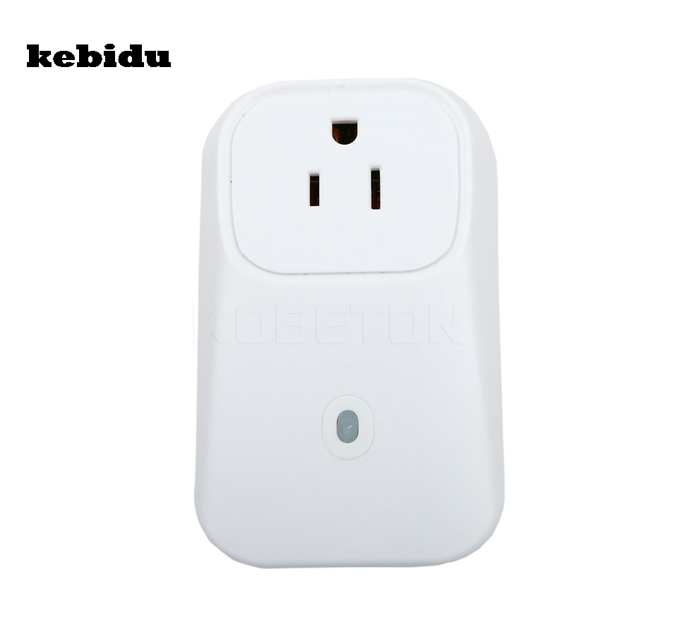 Buy Kebidu Eu Us Plug Wireless Remote Control Home Telephone Switcher Appliance Automation Wifi Smart Phone Power Socket Switch Wall Cell From