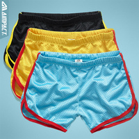 Free Shipping Wholesale Boxer Shorts Men S Sport Shorts 5 Colors Mix Order AC 11