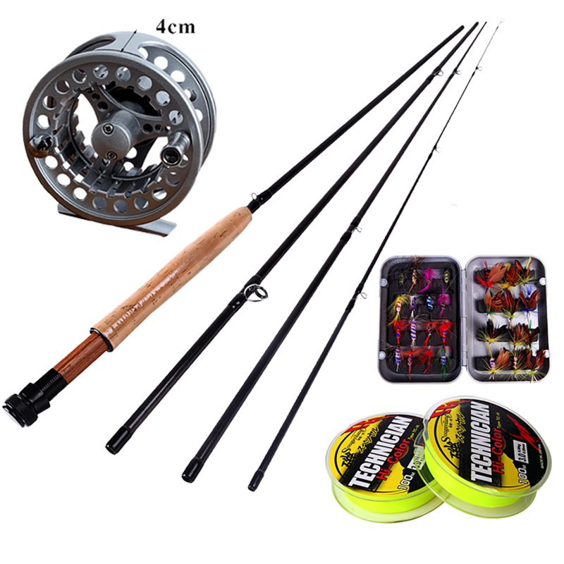 Hot sell sougayilang fly fishing rod and reel with for Fly fishing combo