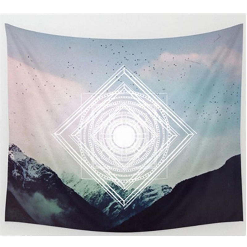 Black White Tapestry Wall Carpet 130 150cm Home Decor Sofa Cover Black Forest Wall Docor Wolf Beach Towel Instant Popular Mat In Tapestry From Home Garden
