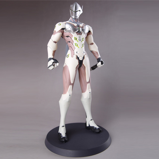 Over watch Genji OW Heroes Action Figure 28cm PVC Statue Collectible Gift