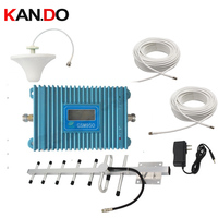W 20 Meters Cable Antennas 900Mhz GSM Repeater Signal Amplifier LCD Display Function GSM 900Mhz Mobile