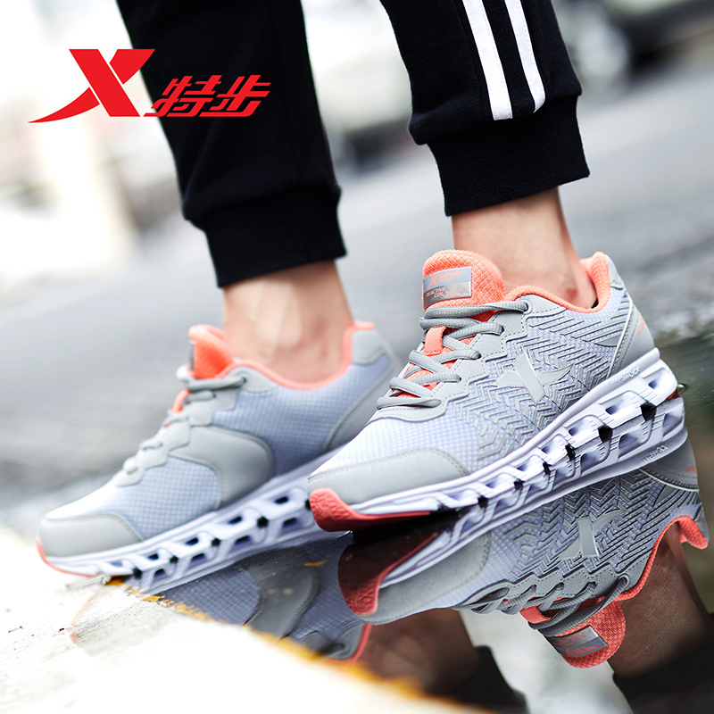 983118119066 XTEP women Running Sports Shoes Sneakers Trainer Outdoor Athletic Running Shoes for women damping shoe