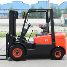 CPCD20FR Diesel Powered Forklift Truck 2 Tons Workshop Lifting Equipment