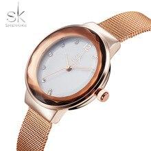SK Relojes de Las Mujeres Mujeres Top Famosa Marca De Lujo Casual Mujer Reloj de Cuarzo de Las Señoras Relojes de Las Mujeres Reloj de Pulsera Relogio Feminino 2017