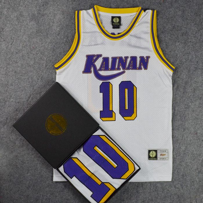 SD Basketball Cosplay Costumes Jersey NO.10 KIYOTA Slam