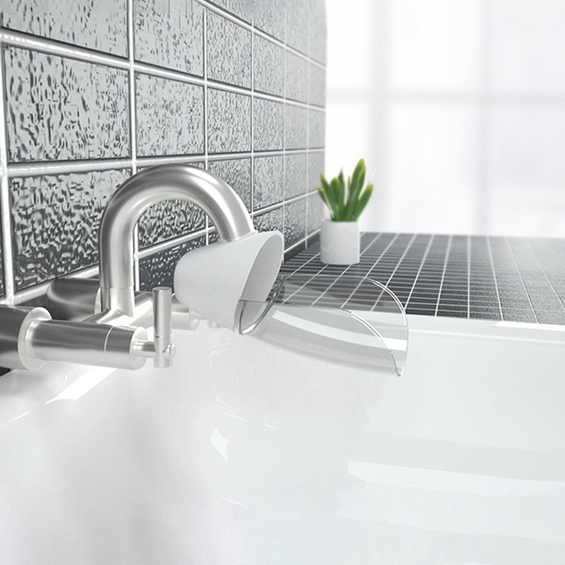 1PC kid bathroom accessory baby faucet extender faucet extender for kids nozzle water tap sink extender home kitchen sink faucet