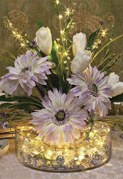 10x10 м 100 светодиодов Chirstmas светло-медный провод свет шнура для елки свет Свадебная вечеринка украшением праздничного освещения