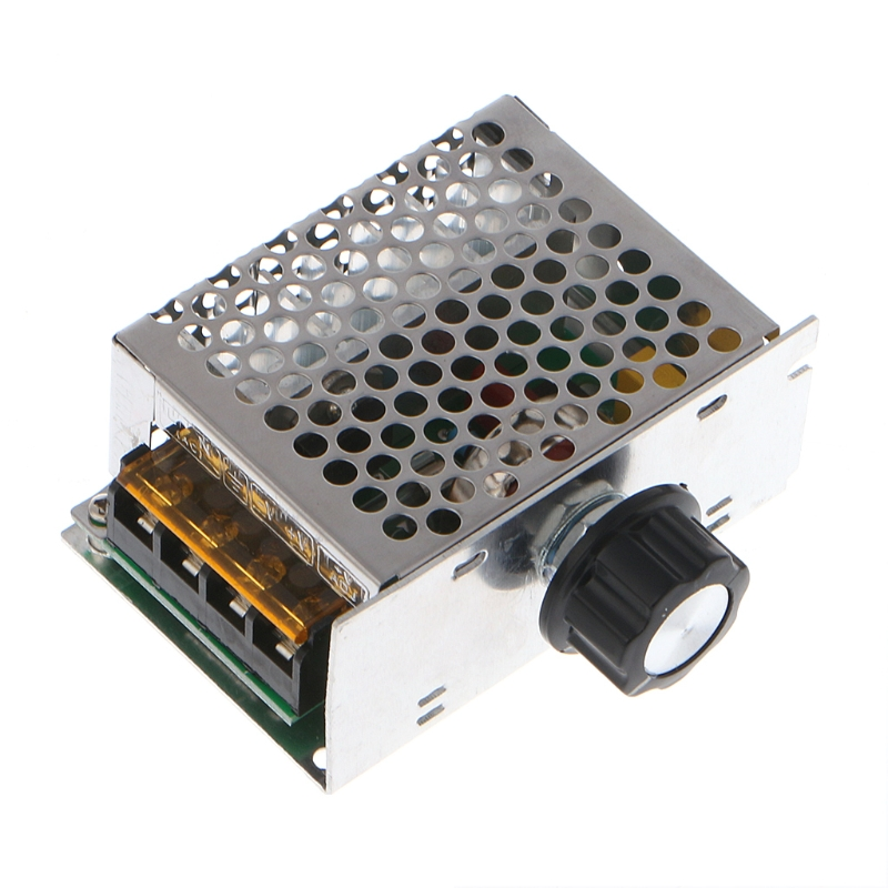 AC 220V 4000W High Power SCR Speed Controller Electronic Voltage Regulator Governor L15 professional voltage regulators 4000w 220v high power scr speed controller electronic voltage regulator governor thermostat t25
