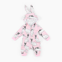 New 2018 Newborn Jumosuit Cute Rabbit Long Sleeve Kids Romper Fashion Spring Autumn Children Jumpsuit Baby