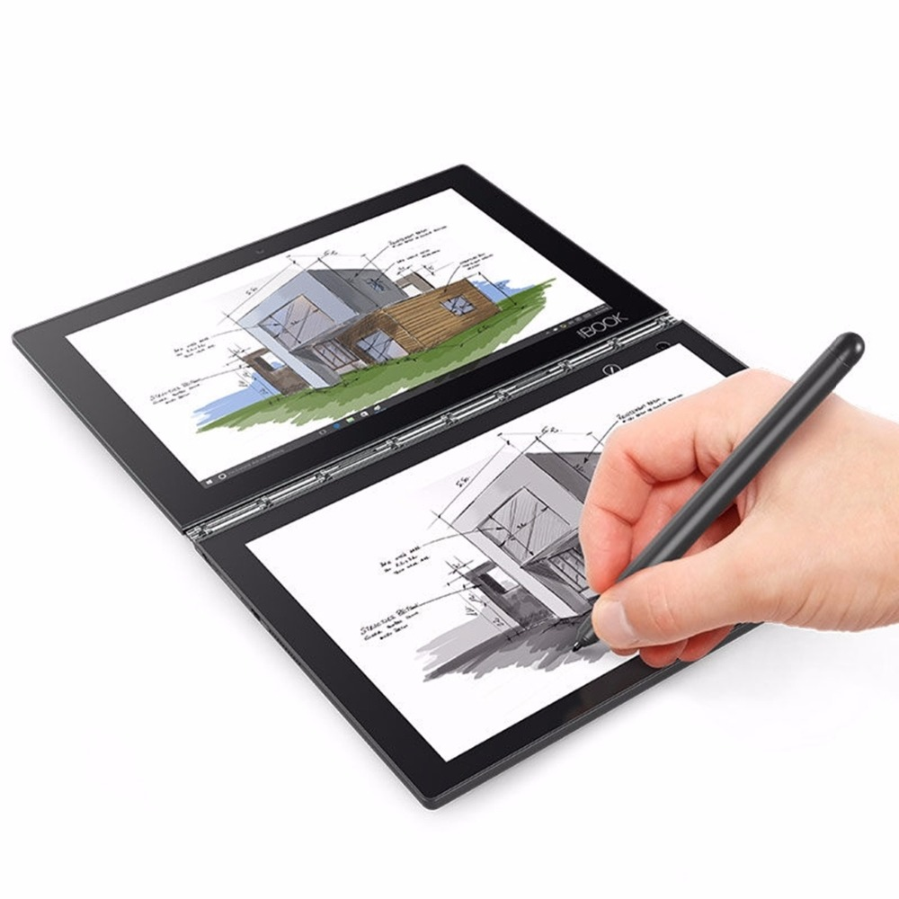 Lenovo yoga Book x91l netbook PC Tablets 10.1 pulgadas 4 GB 64 GB Ventanas 10 educación/pro Intel Atom x5-z8550 Lápices para pantalla táctil pluma 4 modo