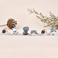 Fantasy Cartoon Cute 6pcs/ set Cat Fairy Garden Decoration Crafts Home Decor Fashion Micro Landscape Miniature Figurines 1