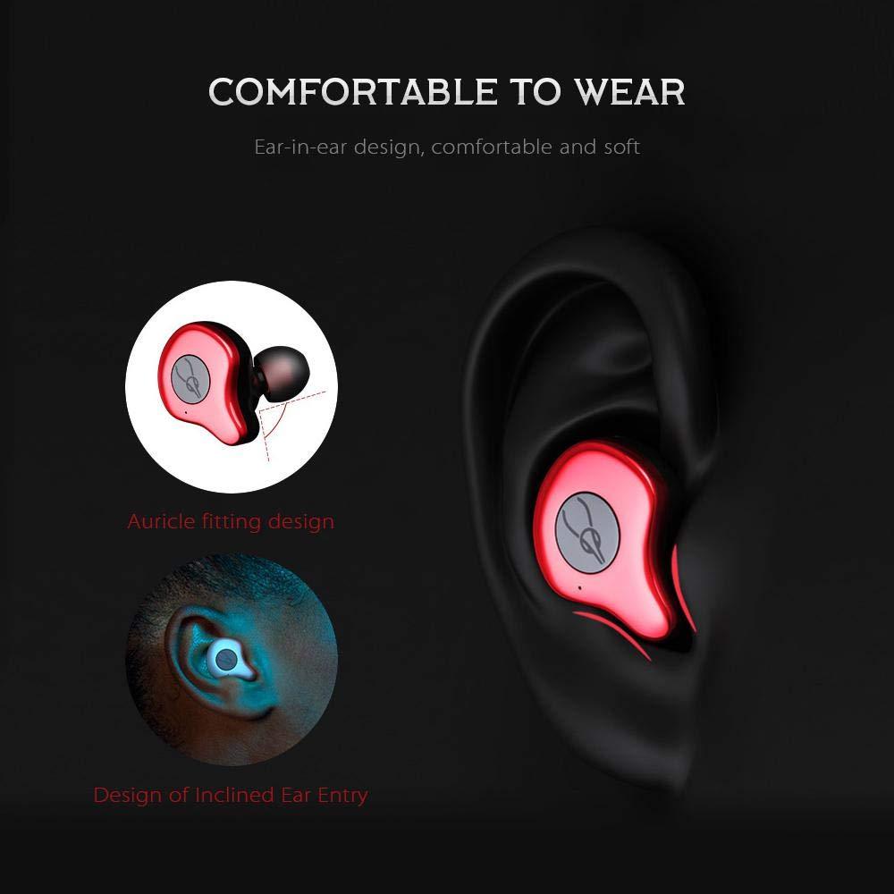 Mise à niveau TWS 5.0 Bluetooth écouteurs sans fil écouteurs Sport course Hifi casque mains libres 3D stéréo son écouteurs pour téléphone - 6