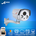 POE Network Surveillance Camera 1080P 2.0Megapixel HD 2Array IR Night Vision Onvif H.264 Waterproof Bullet Security CCTV Camera