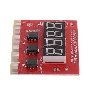 Image 5 - 新しいコンピュータ pci ポストカードマザーボード led 4 桁の診断テスト pc アナライザ whosale & ドロップシップ